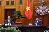 Le Premier ministre vietnamien reçoit l'ambassadeur de France