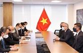 Le président vietnamien reçoit des dirigeants d'entreprises américaines