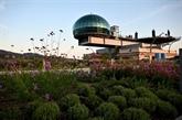 La piste légendaire de Fiat transformée en immense jardin suspendu