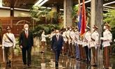 Le Vietnam et Cuba