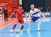 Mondial de Futsal 2021 : le Vietnam perd sur le score honorable de 2-3 devant la Russie