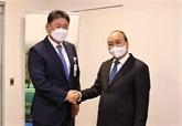 Le président Nguyên Xuân Phuc rencontre des dirigeants étrangers à New York
