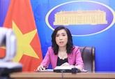 La porte-parole du ministère des AE donne des points de vue sur des problèmes internationaux