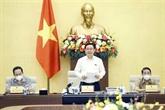 Le président de l'AN travaille avec la permanence de la Commission économique