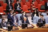 Climat : le président vietnamien participe à une réunion du Conseil de sécurité