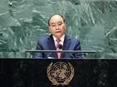 Le président Nguyên Xuân Phuc au Sommet des Nations unies sur les systèmes alimentaires