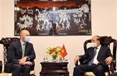 Le président Nguyên Xuân Phuc reçoit des sociétés énergétiques américaines