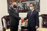 Des diplomates vietnamiens tiennent des rencontres bilatérales à New York