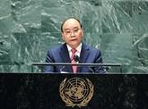Le président vietnamien intervient dans le débat général de l'ONU