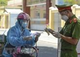 Hô Chi Minh-Ville : la plupart des livreurs sont vaccinés contre le COVID-19