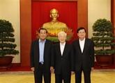 Rencontre des hauts dirigeants Vietnam - Cambodge - Laos