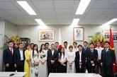 Deuxième congrès de l'Association des Vietnamiens à Fukuoka