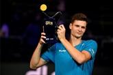 Tennis : Hurkacz gagne une place au classement, après son titre à Metz