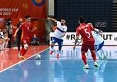 Mondial de futsal : les médias internationaux félicitent le Vietnam