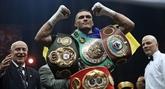 Boxe : le promoteur d'Usyk confirme une possible revanche contre Joshua l'an prochain
