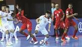 La belle Coupe du monde de futsal de l'équipe vietnamienne