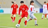 Coupe d'Asie féminine de football 2022 : l'équipe vietnamienne qualifiée pour la phase finale