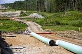 Mise en service d'un nouvel oléoduc entre le Canada et les États-Unis