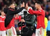 Ronaldo sauve Manchester United pour son record de matches en C1