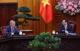 Le Premier ministre vietnamien reçoit l'ambassadeur du Royaume-Uni à Hanoï
