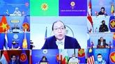 Le Vietnam assiste à une réunion virtuelle des hauts officiels de l'ASEAN