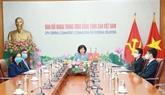 Une délégation du PCV participe à la 36e réunion du Comité permanent de l'ICAPP