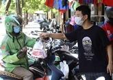 Hanoï : les livreurs à domicile sont autorisés à travailler de 09h00 à 20h00