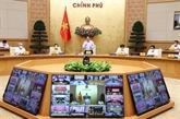 Le Premier ministre préside une réunion nationale en ligne sur la réponse au COVID-19