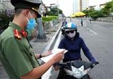 Hanoï va resserrer le contrôle des déplacements à partir du 8 septembre