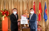La Fondation Temasek fait don de respirateurs et d'équipements de protection
