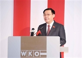 Les médias européens soulignent la visite du président de l'AN du Vietnam