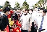 Nguyên Xuân Phuc assiste à une cérémonie d'ouverture de la nouvelle année scolaire à Yên Bai