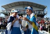 Solheim Cup de golf : les Européennes conservent leur titre