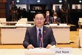 Le président de l'Assemblée nationale du Vietnam s'adresse à la WCSP5
