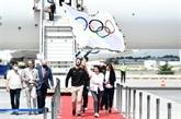 Les drapeaux olympique et paralympique entament leur tournée par la Seine-Saint-Denis