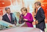 Dernier salon de l'automobile pour Merkel, copilote d'une filière en pleine révolution