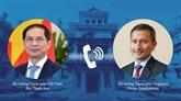 Le Vietnam apprécie le soutien de Singapour dans la lutte contre le COVID-19