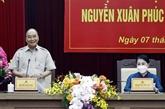 Le président de l'État se rend dans la province de Vinh Phuc