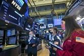 Wall Street termine en repli, le Dow Jones au plus bas en deux semaines