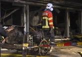 Dix morts dans l'incendie d'une unité COVID-19 en Macédoine du Nord