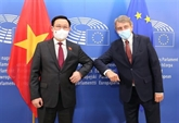Le président de l'AN vietnamienne s'entretient avec le président du Parlement européen