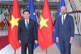 Le président de l'AN rencontre le président du Conseil européen
