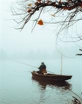Ông già câu cá