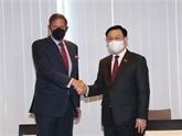 Le président de l'AN rencontre des dirigeants de plusieurs groupes économiques