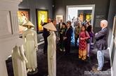 Ouverture de l'exposition de peintures