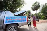 À Tây Ninh, les gardes-frontières de Phuoc Tân se mobilisent contre le COVID-19
