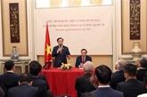 Le président de l'Assemblée nationale exhorte à faire ratifier l'EVIPA