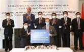 La Belgique fait don de 100.000 doses de vaccin au Vietnam