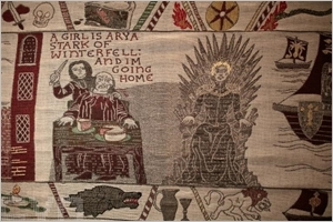 Tapisserie Game of Thrones de 90 mètres