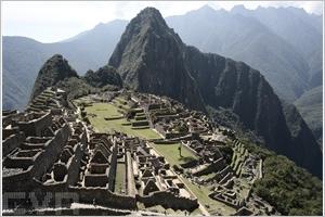 Machu Picchu au Péru